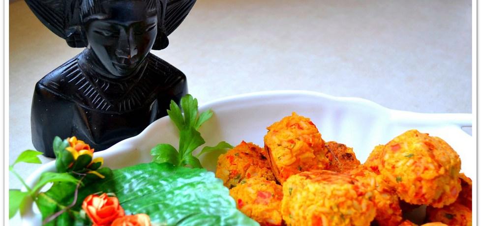 Hinduskie kulki ryżowe z cieciorką. (autor: christopher ...