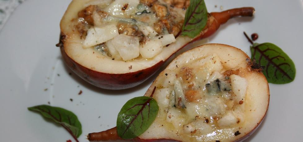 Gruszki zapiekane z serem pleśniowym (autor: skotka ...