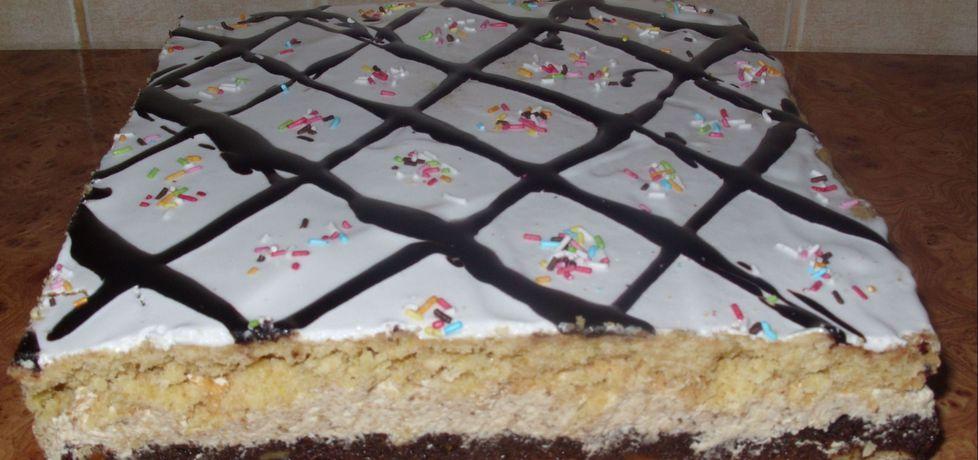 Ciasto makowe z masą orzechową (autor: bietka)