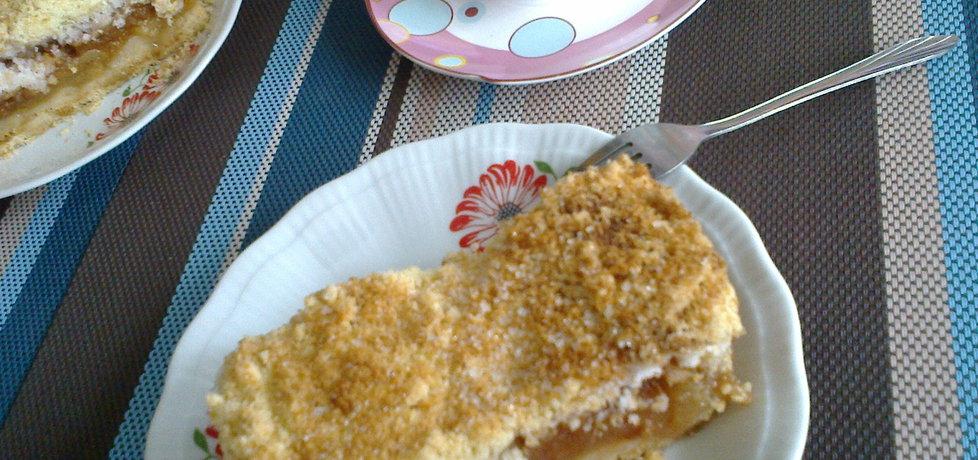 Bardzo kruche ciasto z jabłkami i bezą kokosową (autor: janina ...