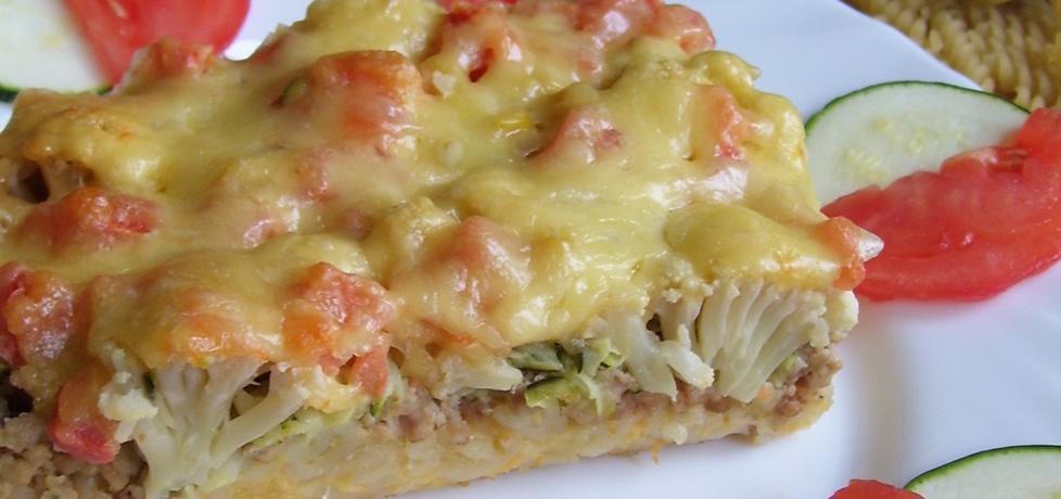 Zapiekanka makaronowa z mięsem i warzywami (autor: mniam ...