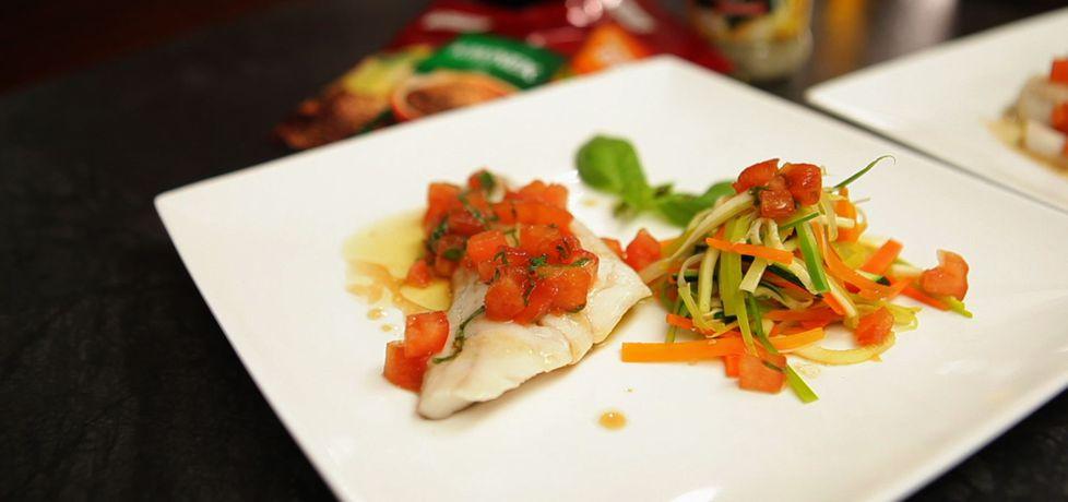 Doradca smaku, odc. 34: filet z sandacza na parze z warzywami ...