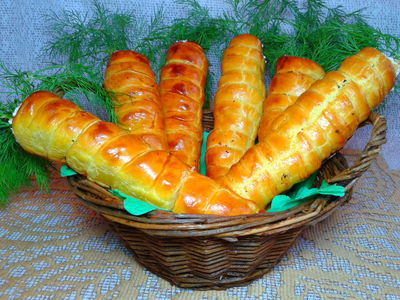 Kruche marchewki z warzywno
