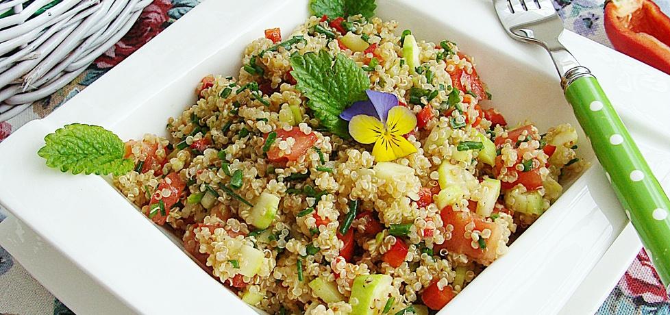 Tabbouleh z quinoa (autor: 2milutka)