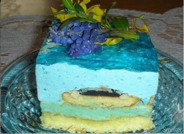 Ciasto smerfetka