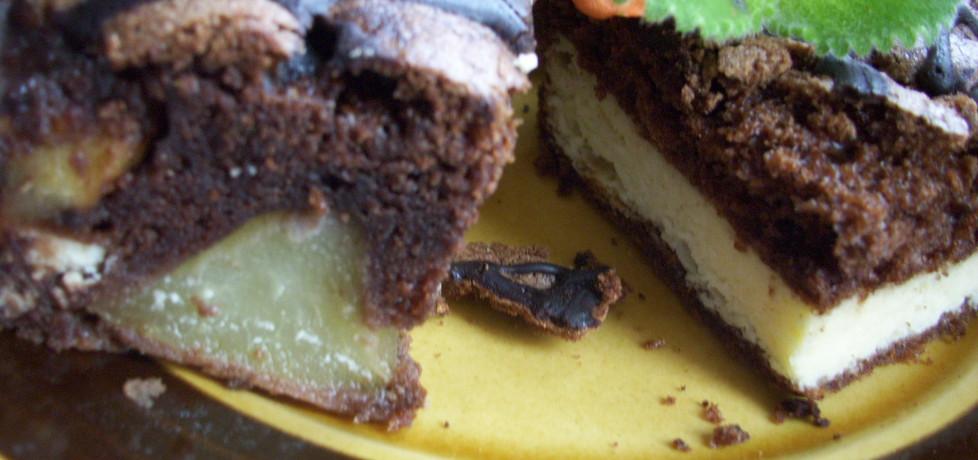 Ciasto z serem i gruszką (autor: misia53)