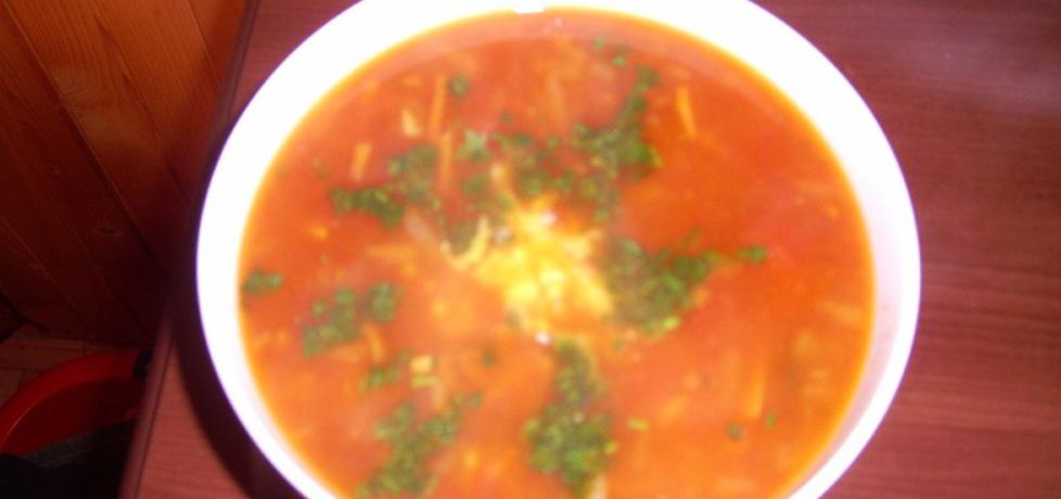 Zupa pomidorowa z cebulą (autor: justyna37)