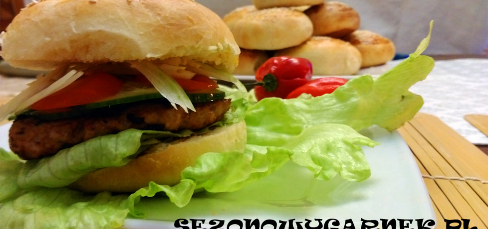 Domowe burgery drobiowe (autor: sezonowy