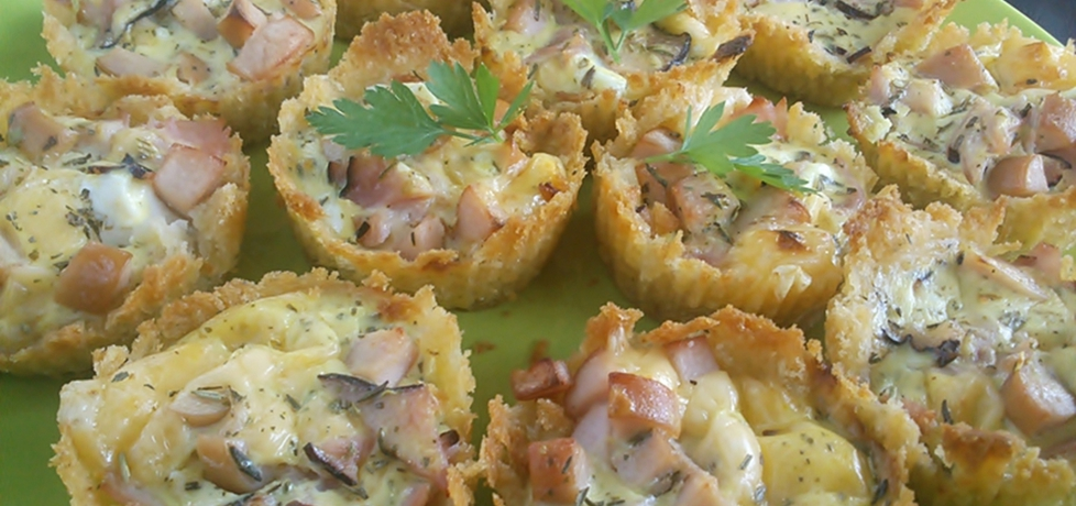 Muffinki z chleba tostowego na słono (autor: martyna94 ...