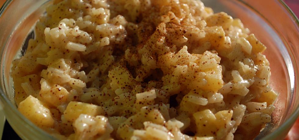 Aromatyczny ryż z jabłkami z patelni (autor: domaskowa ...