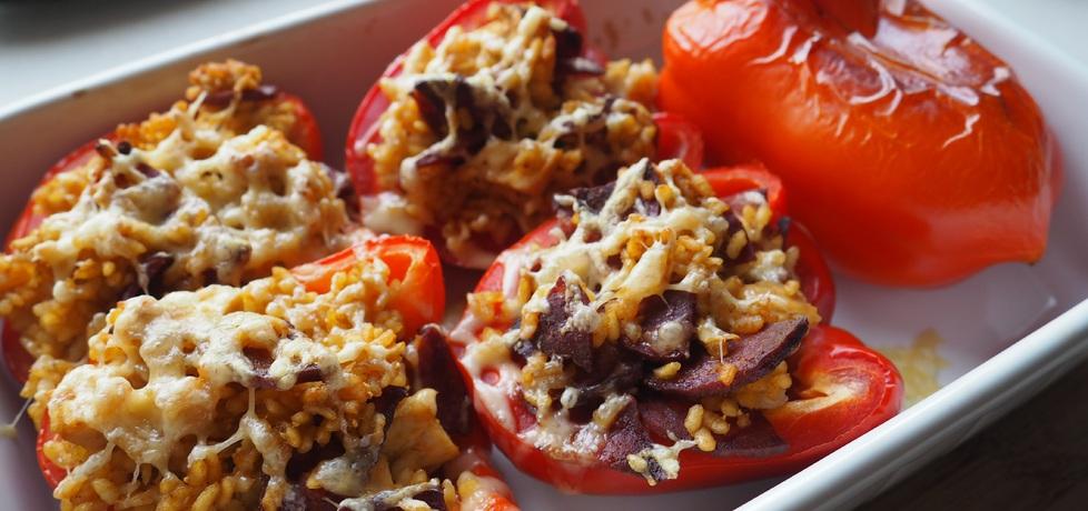 Papryka faszerowana ryżem, kurczakiem i chorizo (autor: mami93 ...