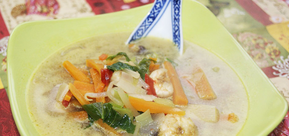Zupa curry z krewetkami (autor: paulisiaelk)