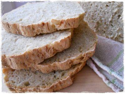 Chleb z kiszoną kapustą na zakwasie