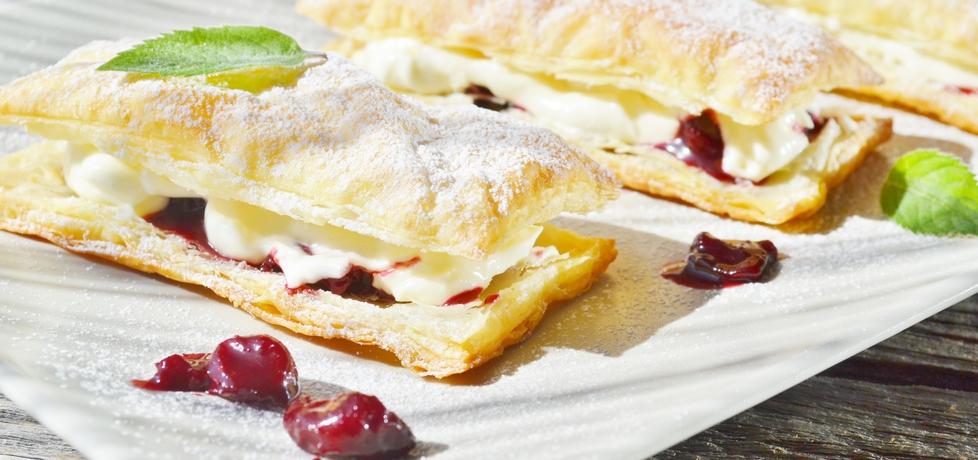 Francuskie ciastka z wiśniami (autor: czekoladkam ...