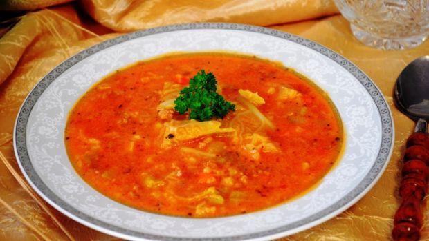 Przepis  zupa gołąbkowa z ryżem przepis