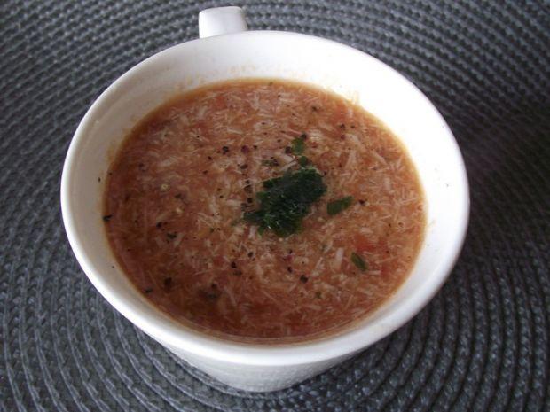 Przepis  zupa pomidorowa z kurczakiem przepis