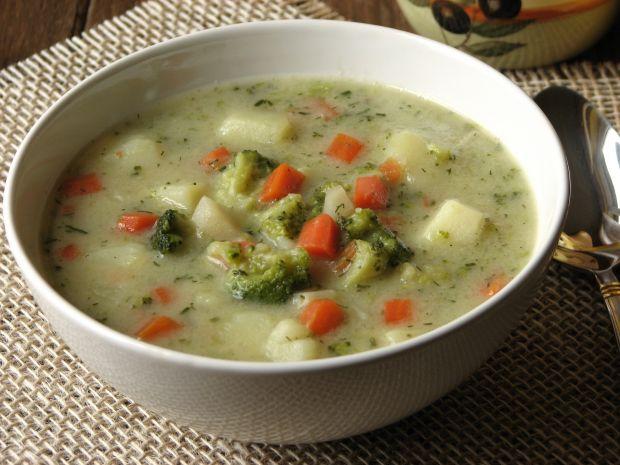 Przepis  zupa brokułowa przepis