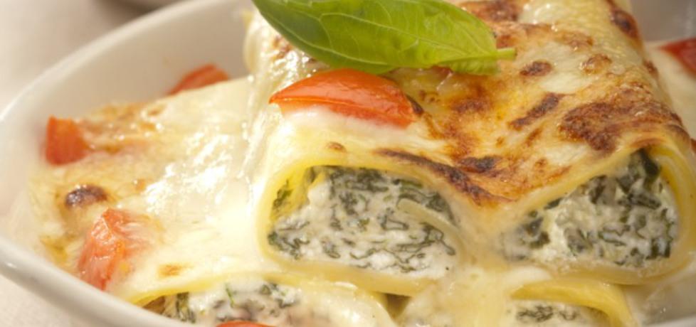Cannelloni z serem ricotta i szpinakiem (autor: robertsowa ...