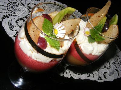 Deser z gruszek