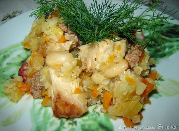 Potrawka warzywna z mięsem