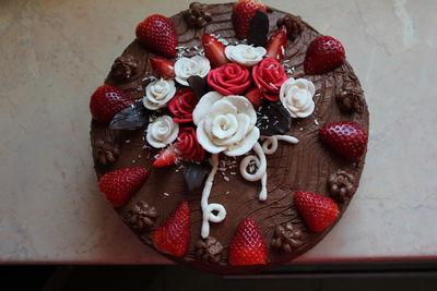 Tort czekoladowo