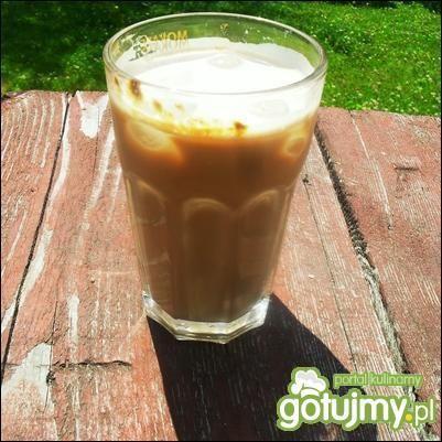Przepis  mrożona kawa truskawkowa 2 przepis