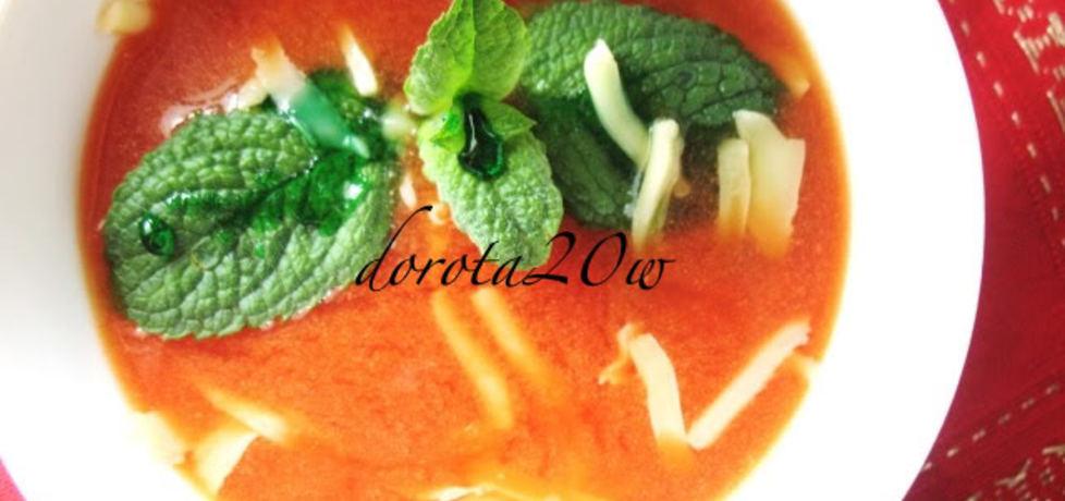 Zupa pomidorowa z miętą (autor: dorota20w)
