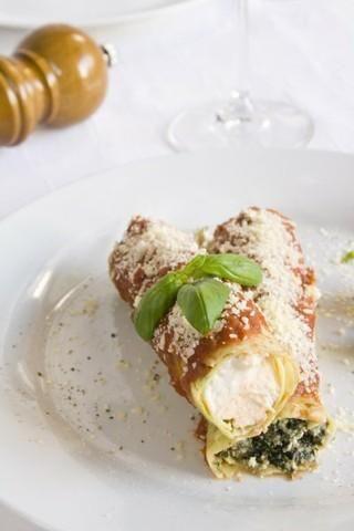 Przepis  cannelloni z riccotta i szpinakiem przepis