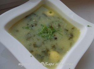 Zupa szczawiowa  prosty przepis i składniki