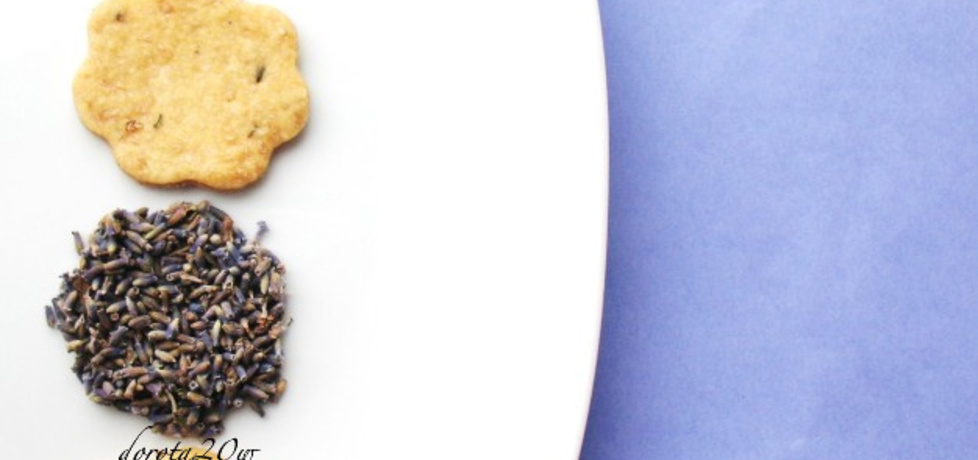 Ciasteczka lawendowe (autor: dorota20w)