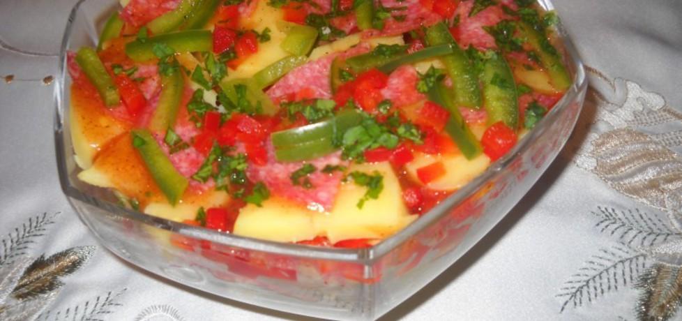 Sałatka ziemniaczana z salami (autor: bernadeta1)