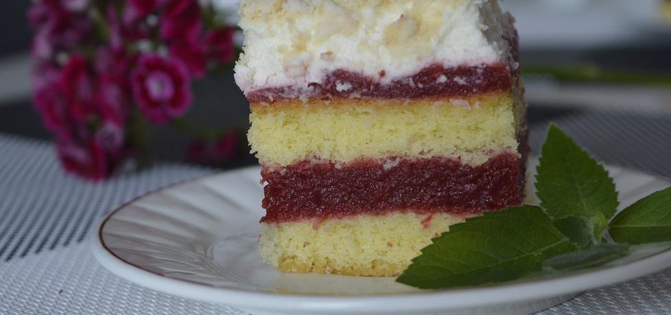 Ciasto biszkoptowe z truskawkowym musem (autor: noninka77 ...