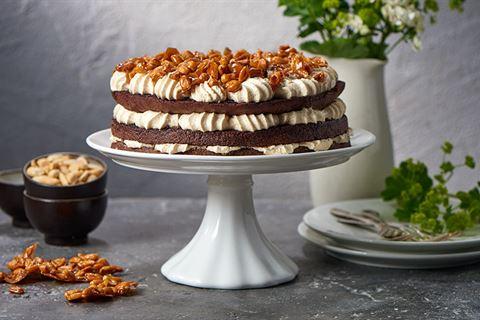 """Tort orzechowo-czekoladowy """"manhattan"""""""