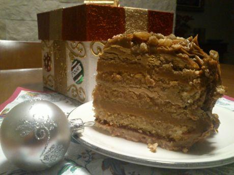 Przepis  świąteczny tort kajmakowy przepis