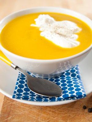 Zupa krem z żółtej papryki  prosty przepis i składniki