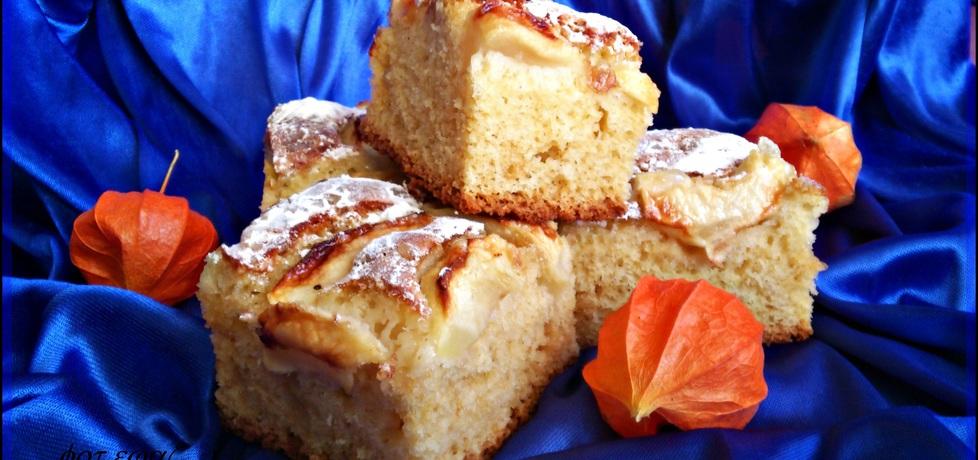 Ciasto jabłkowo śmietankowe (autor: zewa)