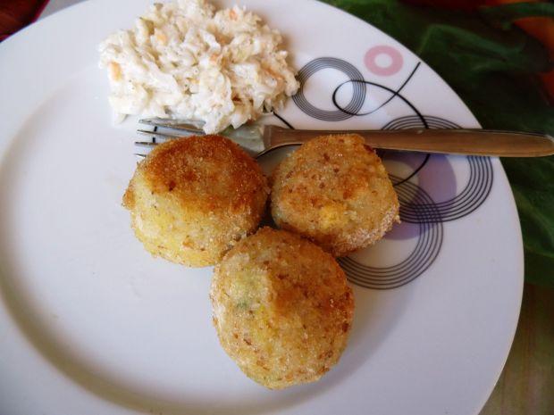 Przepis  kulki ryżowe z nutą sera przepis