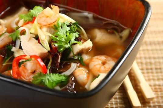 Chińska zupa cytrynowa