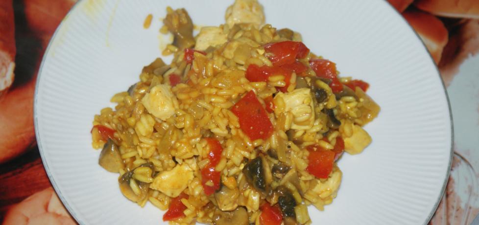 Ryż curry z kurczakiem i warzywami (autor: magdalea ...