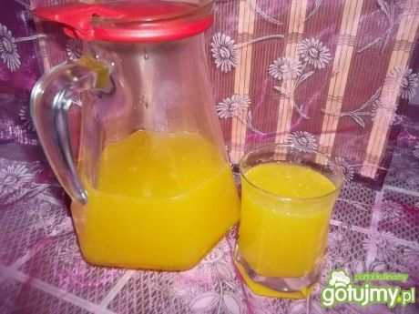 Przepis  cytrusowy napój galaretkowy przepis