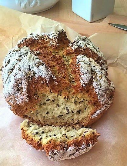 Przepis  chleb z ziarnami bez drożdży przepis