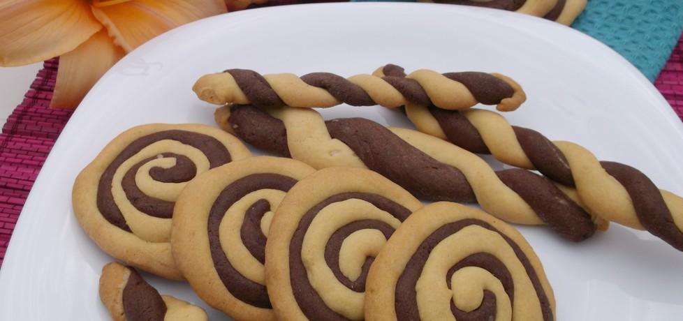 Ciasteczka czarno-białe. (autor: babeczka35)