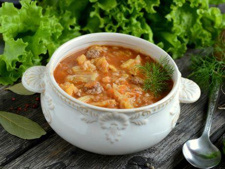 Przepis  pyszna zupa gołąbkowa przepis