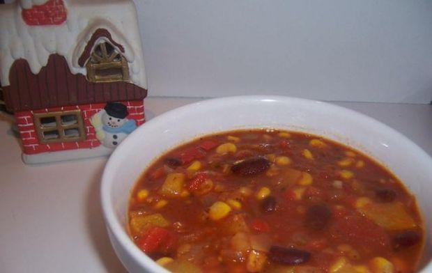 Przepis  wegetariańskie chili przepis
