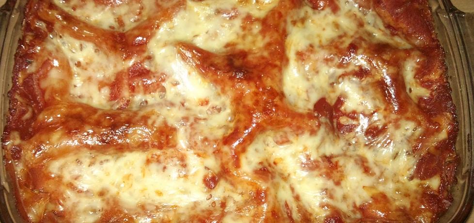 Lazania potrójnie serowa z pomidorami (autor: alexm ...
