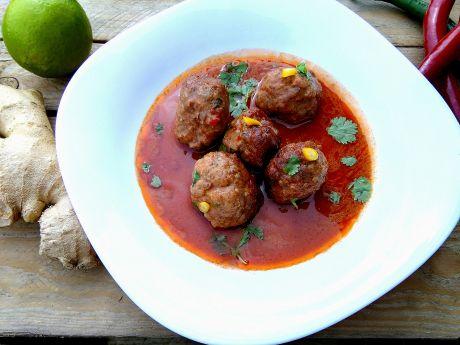 Przepis  pulpeciki w sosie pomidorowo