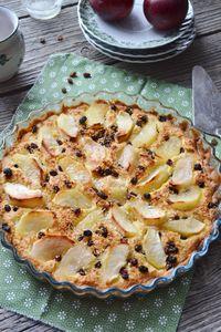 Kokosowa tarta z jabłkami