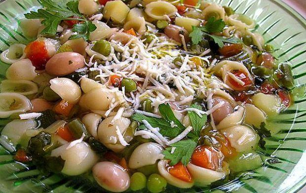 Przepis  minestrone  zupa jarzynowa po włosku przepis