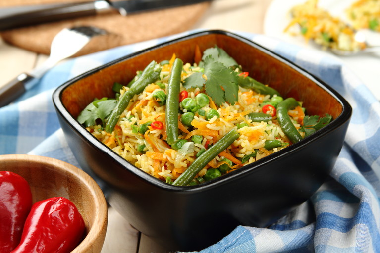 Ryż podsmażany z warzywami