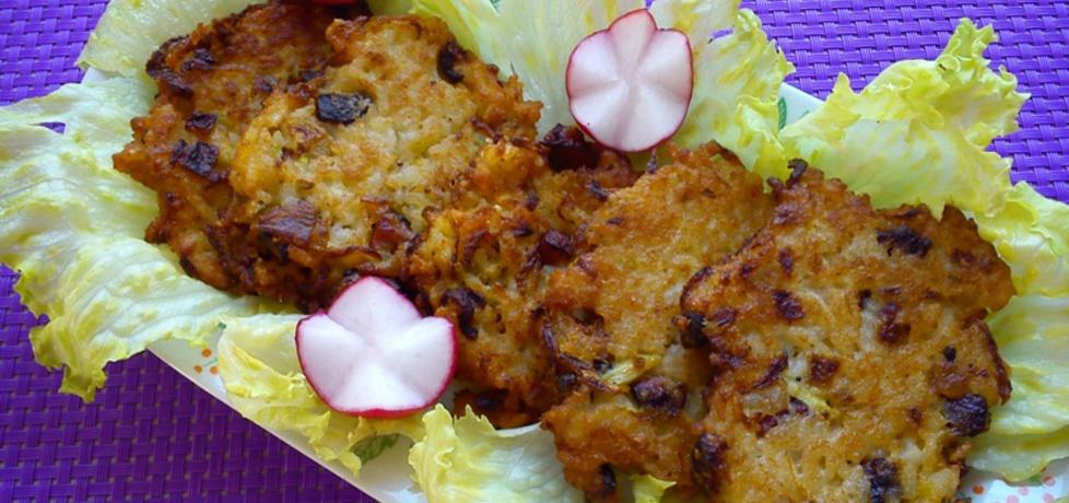 Placuszki ryżowe z cukinią i boczkiem wędzonym (autor: anna20 ...